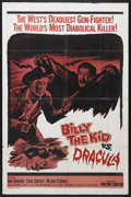 """Movie Posters:Horror, Billy the Kid versus Dracula (Embassy, 1966). One Sheet (27"""" X 41""""). Horror. Starring John Carradine, Chuck Courtney and Mel..."""