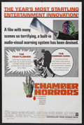 "Movie Posters:Horror, Chamber of Horrors (Warner Brothers, 1966). One Sheet (27"" X 41"").Horror. Starring Cesare Danova, Wilfrid Hyde-White, Laura..."