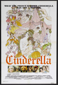 "Cinderella (Group 1, 1977). One Sheet (27"" X 41""). Adult/Comedy. Starring Cheryl Smith, Yana Nirvana, Marylyn..."
