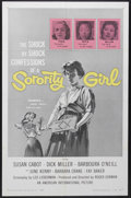 "Movie Posters:Bad Girl, Sorority Girl (American International, 1957). One Sheet (27"" X41""). Bad Girl. Starring Susan Cabot, Dick Miller, Barboura O..."