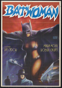 "Batwoman (Cinematográfica Calderón S.A., 1968). Mexican One Sheet (27"" X 41""). Action. Starring..."