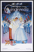 "Movie Posters:Animated, Cinderella (Buena Vista, R-1987). One Sheet (27"" X 41""). Animated.Starring the voices of Ilene Woods, Eleanor Audley, Luis ..."