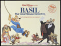"Movie Posters:Animated, The Great Mouse Detective (Buena Vista, 1986). British Quad (30"" X40""). Animated. Starring the voices of Vincent Price, Bar..."