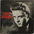 "Music Memorabilia:Recordings, ""Eddie Cochran"" Promo LP (Liberty 3172, 1960). Album was released shortly after Cochran's death and included 6 of his 7 sing..."