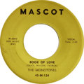 """Music Memorabilia:Recordings, Monotones """"Book of Love"""" 45 (Mascot 3003, 1957). What Rock andRoller doesn't get revved by the opening, """"Oh, I wonder wonde..."""