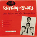 "Music Memorabilia:Recordings, Don Julian and the Meadowlarks ""Rhythm and Blues"" EP (Dooto 203,1958). Love the label! It's from one of the premier Doo-Wop..."