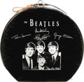 Music Memorabilia:Memorabilia, Beatles Hat Box. A rare vintage NEMS original Beatles Airflite Hat Box (1964) with zippered lid and pictures of the Fab Fou...