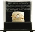 "Music Memorabilia:Memorabilia, Elvis Presley's Dental Crown With Model of His Teeth. This is probably not what comes to mind when you hear the words ""t..."