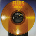 "Music Memorabilia:Recordings, Elvis Presley ""Moody Blue"" Gold Vinyl LP RCA AFL 1-2428 Stereo(1977). Released the year Elvis died, any color version other..."