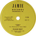 """Music Memorabilia:Recordings, Duane Eddy 78 Group of 10. Four selections from the famed Rockguitarist, who defined the term """"twangy"""" with his popular ins...(Total: 10 )"""