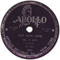 "Music Memorabilia:Recordings, Mel-O-Dots ""One More Time"" 78 (Apollo 1192, 1952). Backed with""Just How Long"". Tough to find a copy of this release from a ..."