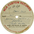Music Memorabilia:Recordings, Paul Anka Acetate Group of 15. Here are 15 acetates of mostly unreleased singles from one of the most celebrated singer-song... (Total: 15 )