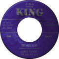"""Music Memorabilia:Recordings, Charlie Feathers """"When You Come Around""""/ """"Too Much Alike"""" 45 (King5043, 1957). The Rockabilly artist had almost as many lab..."""