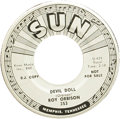 """Music Memorabilia:Recordings, Roy Orbison """"Devil Doll""""/ """"Sweet And Easy To Love"""" Promo 45 (Sun353, 1960). Rare promo from one of Rock's greatest performe..."""