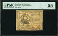 Colonial Notes:Continental Congress Issues, Continental Currency July 22, 1776 $30 PMG About Uncirculated 55.. ...
