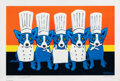 Prints & Multiples, George Rodrigue (1944-2013). Heat in the Kitchen, 2009. Offset lithograph in colors on wove paper. 27 x 40 inches (68.6 ...