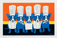 George Rodrigue (1944-2013) Heat in the Kitchen, 2009 Offset lithograph in colors on wove paper 2