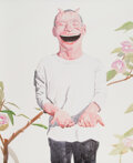 Prints & Multiples, Yue Minjun (b. 1962). Smile-ism No. 23, 2006. Lithograph in colors on paper. 43-1/2 x 31 inches (110.5 x 78.7 cm) (sheet...