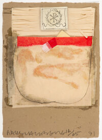 Robert Rauschenberg (1925-2008) Untitled, from Shirt Boards Morocco, Italy '52 (four works),... (Total: 4)