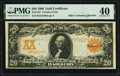 Fr. 1181 $20 1906 Gold Certificate PMG Extremely Fine 40