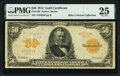 Large Size:Gold Certificates, Fr. 1198 $50 1913 Gold Certificate PMG Very Fine 25.. ...