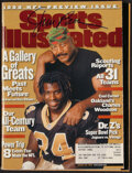 Football Collectibles:Publications, 1999 Jim Brown Signed Sports Illustrated Magazine....