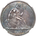 Gobrecht Dollars, 1836 P$1 Name on Base, Judd-60 Original, Pollock-65, R.1 PR62 NGC....