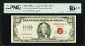 Small Size:Legal Tender Notes, Fr. 1551 $100 1966A Legal Tender Note. PMG Choice Extremely Fine 45 EPQ*.. ...