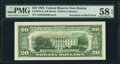 Error Notes:Third Printing on Reverse, Third Printing on Back Error Fr. 2079-A $20 1993 Federal Reserve Note. PMG Choice About Unc 58 EPQ.. ...