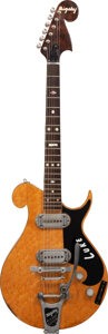 Musical Instruments:Electric Guitars, 1956 Bigsby Standard Spanish-Neck Birds-Eye Maple Solid Bo...