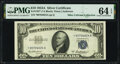Small Size:Silver Certificates, Fr. 1707* $10 1953A Silver Certificate Star. PMG Choice Uncirculated 64 EPQ.. ...