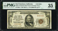 National Bank Notes:California, San Francisco, CA - $50 1929 Ty. 1 Bank of America National Trust & Savings Assoc Ch. # 13044 PMG Choice Very Fine 35....