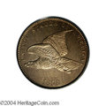 Patterns: , 1858 P1C Flying Eagle Cent, Judd-193, Pollock-236, R.5, ...