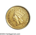 Additional Certified Coins: , 1878 G$1 Gold Dollar PR60 SEGS (AU58). Breen (1988) ...