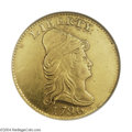 Early Quarter Eagles: , 1796 $2 1/2 No Stars--Ex: Jewelry, Cleaned--ANACS. AU ...