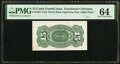Fractional Currency:Fourth Issue, Milton 4S15R.1a 15¢ Fourth Issue PMG Choice Uncirculated 64.. ...