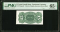 Fractional Currency:Fourth Issue, Milton 4S15R.1 15¢ Fourth Issue Proof PMG Gem Uncirculated 65 EPQ.. ...