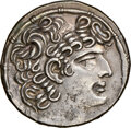 Ancients: SELEUCID KINGDOM. Philip I Philadelphus (ca. 95/4-76/5 BC). Aulus Gabinius, as Proconsul (57-55 BC). AR tetrad...