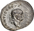 Ancients:Roman Imperial, Ancients: Vespasian (AD 69-79). AR denarius (20mm, 3.25 gm, 6h). NGC XF, brushed....