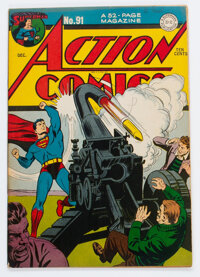 Action Comics #91 (DC, 1945) Condition: FN+