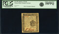 Colonial Notes:Pennsylvania, Pennsylvania April 25, 1776 6 Pence Fr. PA-199 PCGS Choice About New 58PPQ.. ...
