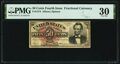 Fr. 1374 50¢ Fourth Issue Lincoln PMG Very Fine 30