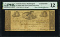 Washington, D.C. – Bank of the United States (the Second) Office of Discount and Deposit $5 Nov. 5, 1828 Haxby US-2 C