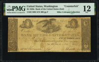 Washington, D.C. - Bank of the United States (the Second) Office of Discount and Deposit $5 Nov. 5, 1828 Haxby US-2 C100...