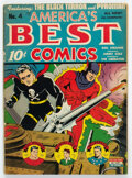 Golden Age (1938-1955):Superhero, America's Best Comics #4 (Nedor Publications, 1943) Condition: GD/VG....