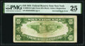 Error Notes:Inverted Reverses, Inverted Back Error Fr. 2004-B $10 1934 Light Green Seal Federal Reserve Note. PMG Very Fine 25.. ...