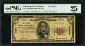 National Bank Notes:Indiana, Indianapolis, IN - $5 1929 Ty. 1 The Fletcher American National Bank Ch. # 9829 PMG Very Fine 25.. ...