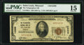 National Bank Notes:Missouri, Saint Louis, MO - $20 1929 Ty. 1 The Telegraphers National Bank Ch. # 12389 PMG Choice Fine 15.. ...