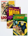Silver Age (1956-1969):Science Fiction, Silver Age Science-Fiction Comics Group of 6 (Various Publishers, 1952-58) Condition: Average VG+.... (Total: 6 )