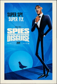 """Spies in Disguise (20th Century Fox, 2019). Rolled, Very Fine+. International One Sheet (27"""" X 40"""") DS Advance..."""
